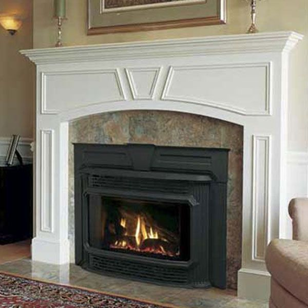 How the Pros Cut Costs on Projects | Gas fireplace, Glass doors ...