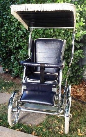 Babyhood Wonda Chair Stoller Attachment In Blue