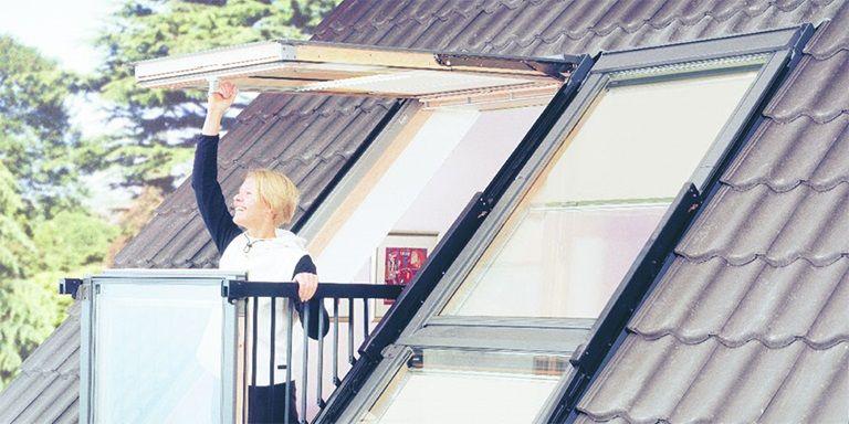 Geniet Van De Buitenlucht Op Uw Eigen Inpandige Balkon Skylight Window Garage Loft Loft Conversion