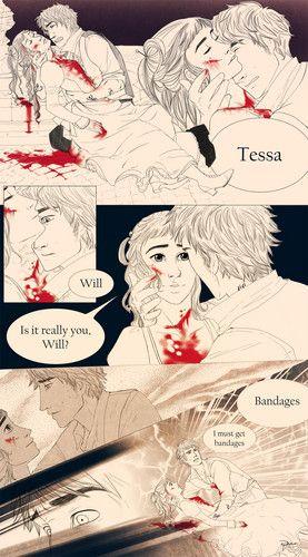 Clockwork Angel.. Tessa and Will. SO MANY FEELS!!!