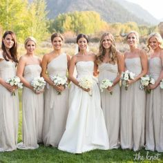 bridesmaid dresses same color different styles - Google Search ...