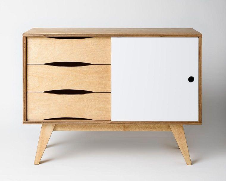 arredamento-anni-60-mobiletto Mobili anni 60 Pinterest - k chen unterschrank ikea