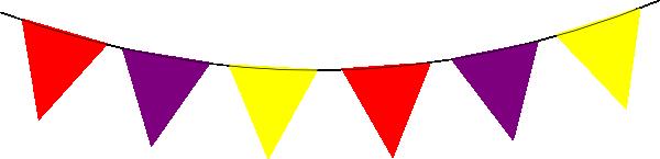 bunting clip art red purple yellow bunting clip art kid s rh pinterest com bunting clipart free bunting clip art border