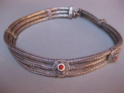Indian Silver Choker. Khaneikey.com