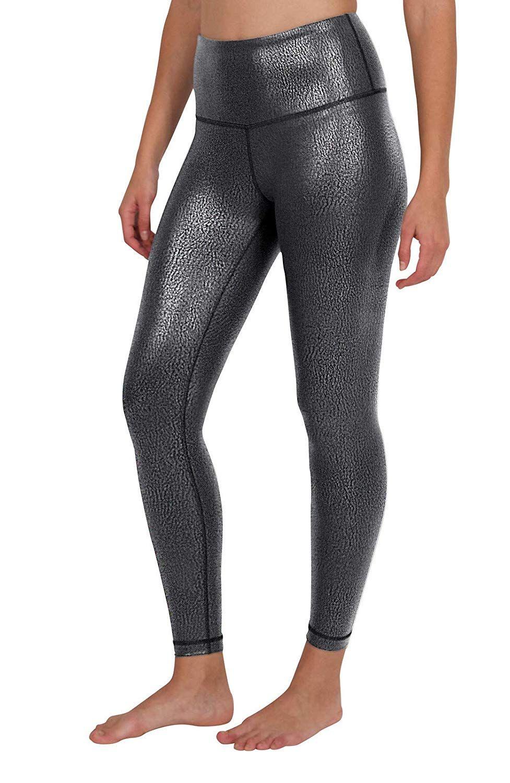 8caed8e166 Amazon.com: 90 Degree By Reflex - Performance Activewear - Printed Yoga  Leggings: