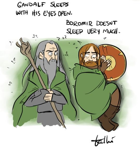 The Fellowship Sleeping Habits | Nerd Out in 2019 | Lord of the