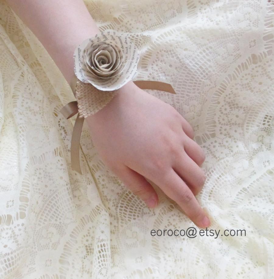 Image Result For Paper Rose Corsage Wedding Inspo Pinterest