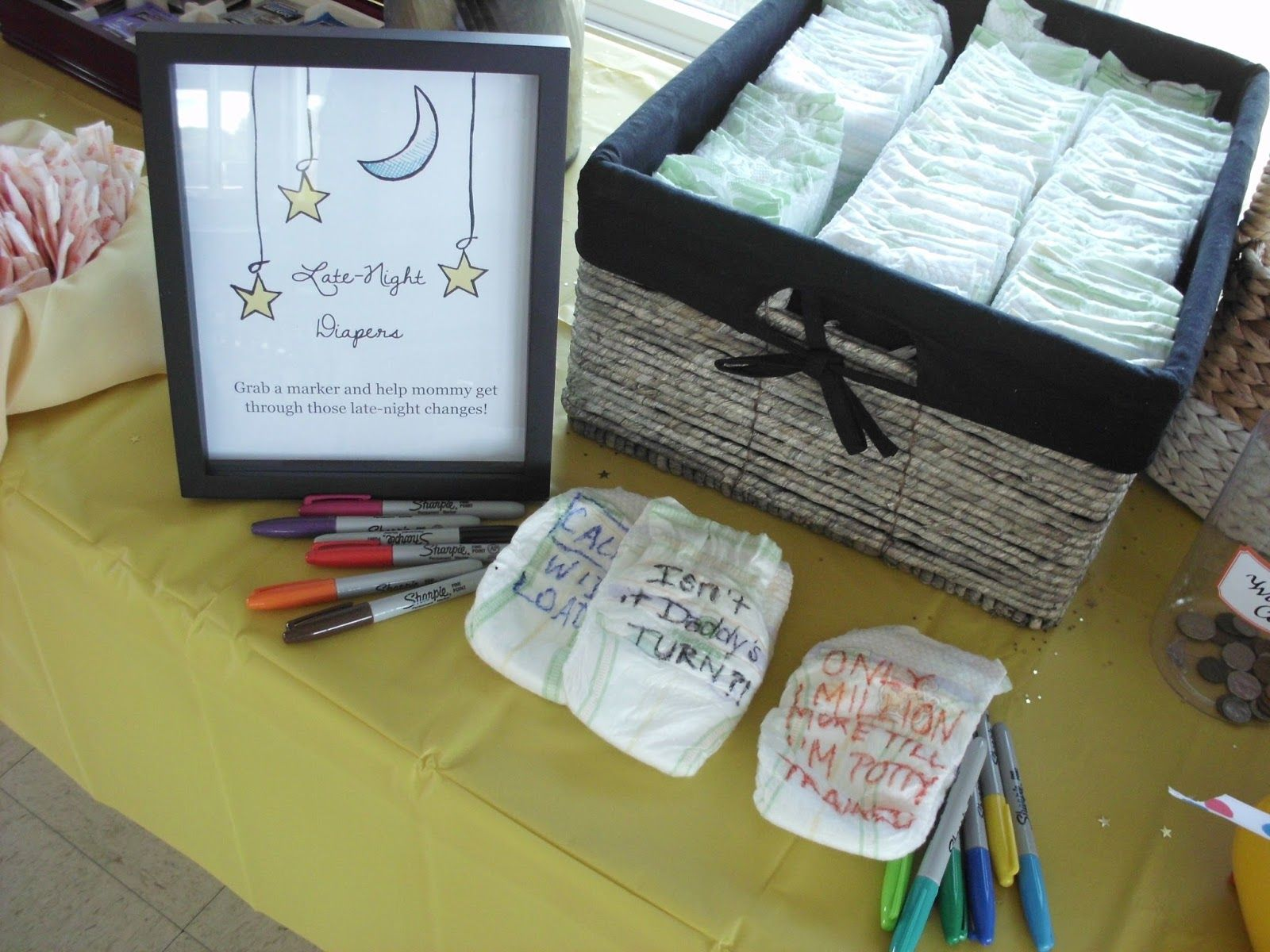 From the Ash Tree Meadow...: Navy and Yellow Nautical Baby Shower