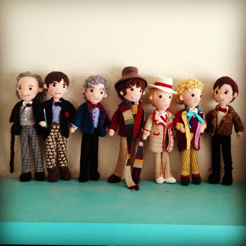 Mega Set of 14 - All 12 Doctors Who Time Travel plus War Doctor ...