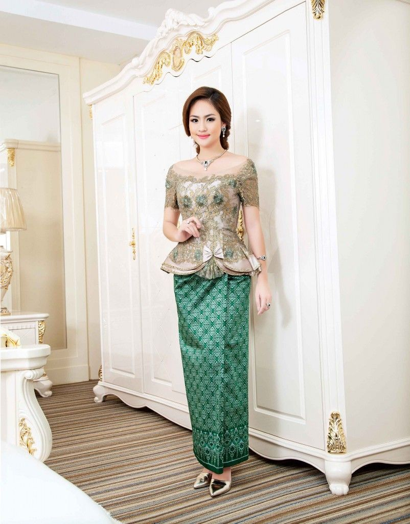 Cambodian dress style fashion dresses for Cambodian wedding dresses sale