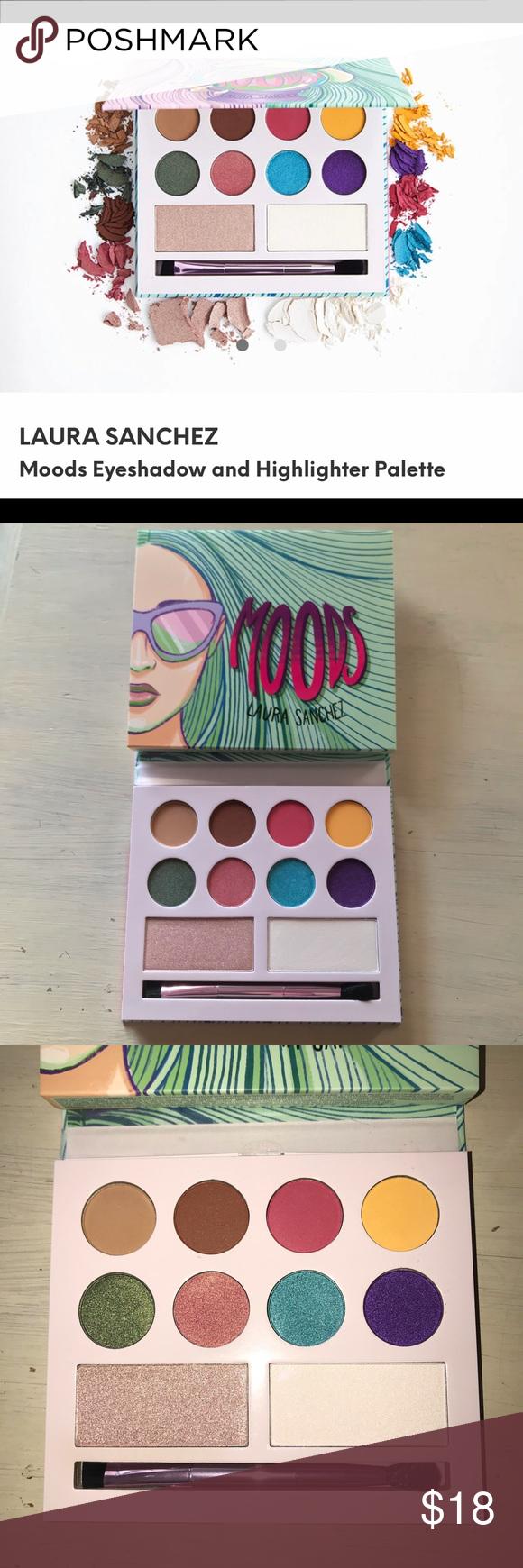 Eyeshadow palette Laura Sanchez Moods New in box. Laura