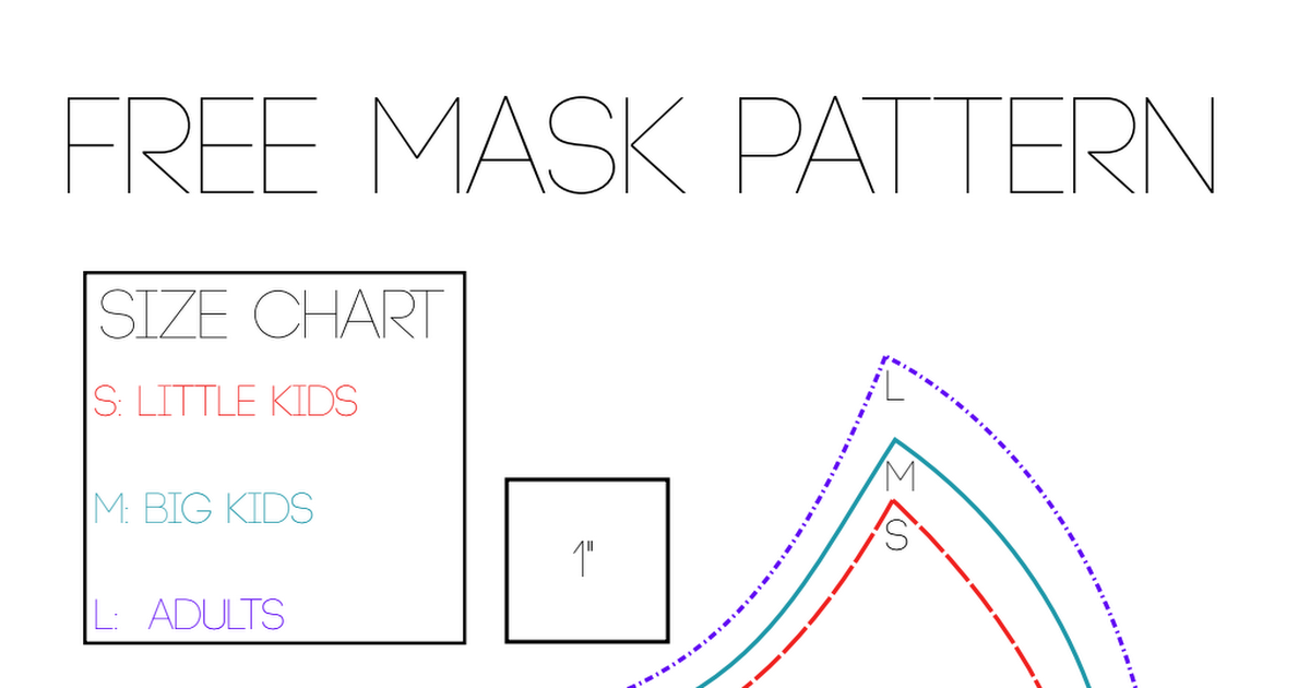 facemask.pdf Diy sewing pattern, Small sewing projects