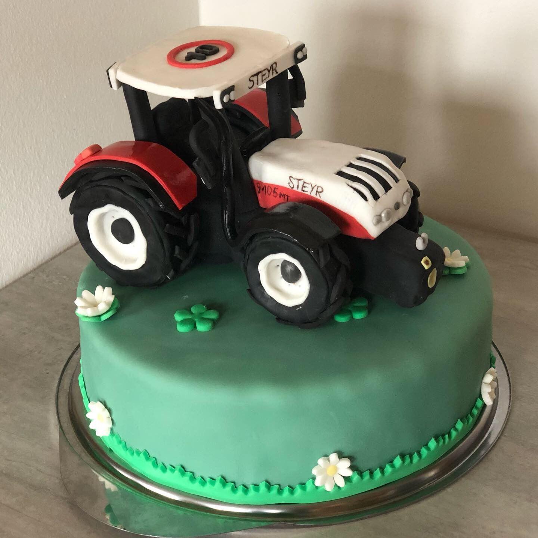 Traktor Torte Traktor Torte Torten Kuchen