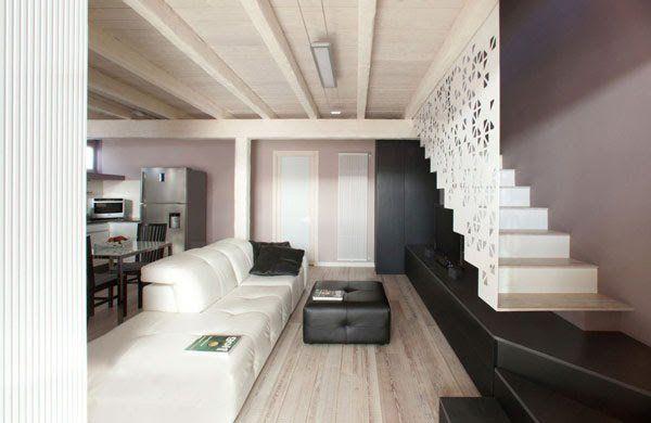 Ristrutturazione di un garage una casa su due piani for I piu bei interni di case
