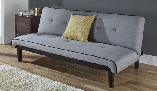 Frontier Grey Fabric Sofa Bed Perfect For Unexpected Guestakes A Great Casual