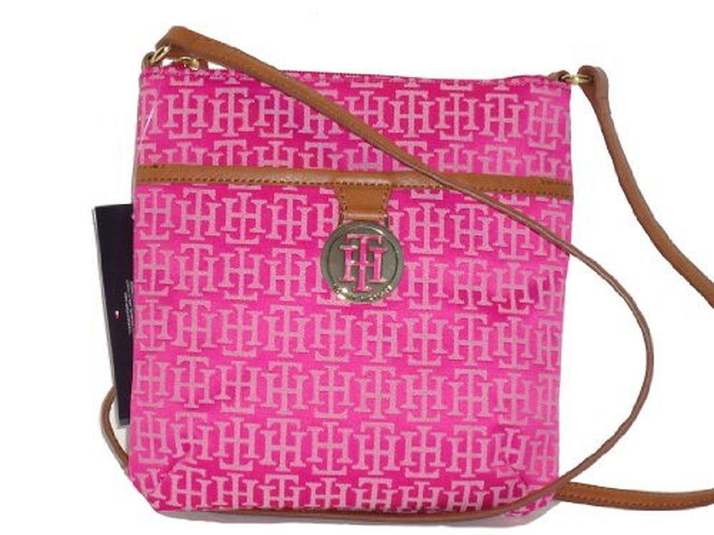 cross body bags: Tommy Hilfiger Crossbody Handbag Pink             Tommy Hilfiger Crossbody Handbag Pink :cross body bags