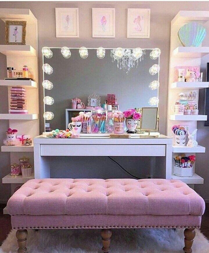 Schon Schlafzimmer Ideen, Kinderzimmer, Selber Machen, Wohnen, Speicherideen,  Schminkzimmer, Eitelkeit Dekor, Schrank Eitelkeit, Modestile