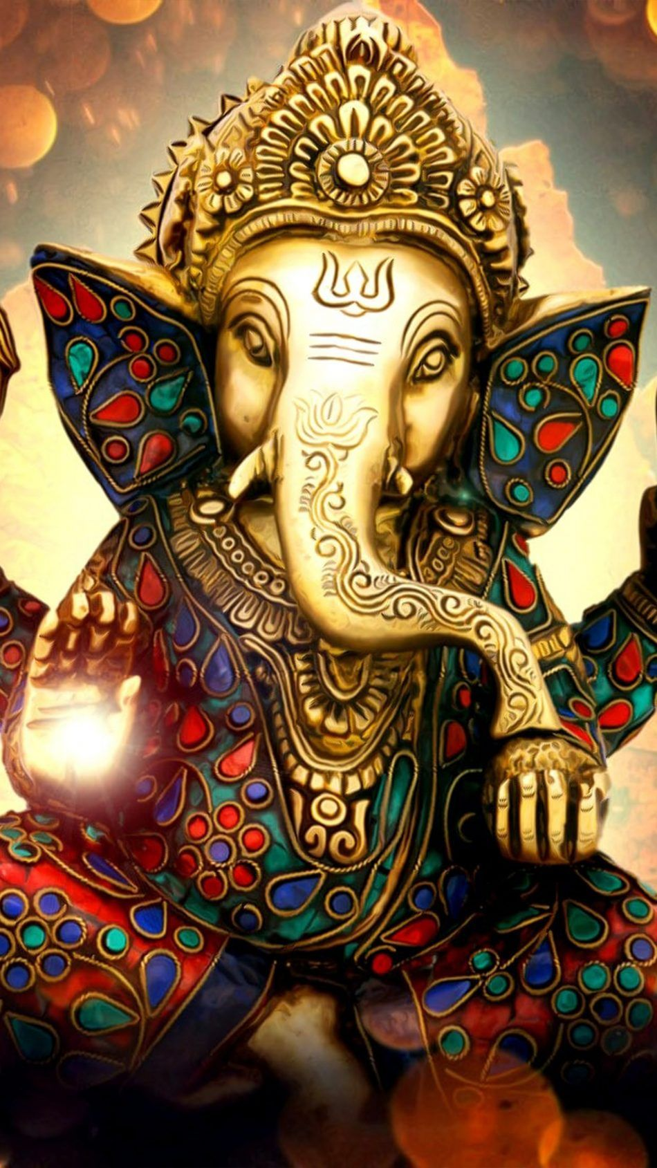 Lord Ganesha Ganapati Statue Idol 4k Ultra Hd Mobile Wallpaper Ganesh Wallpaper Ganesha Pictures Lord Ganesha
