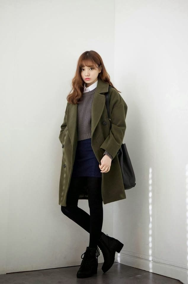 Korean Winter Fashion | Official Korean Fashion | Korean Fashion | Pinterest | Korean Fashion ...