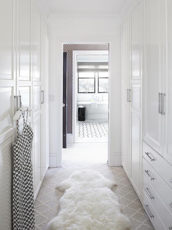 Urrutia Design Closets Benjamin Moore Super White