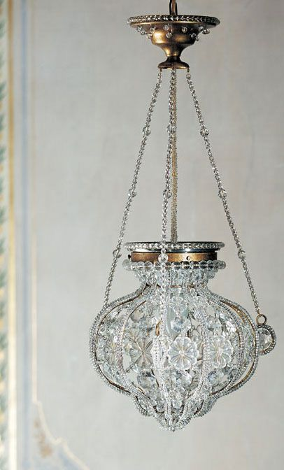 Florentine Style Small Crystal Chandelier Crystal Chandelier