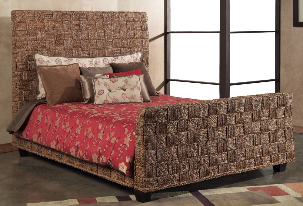 Wicker Bed by Seagrass Furniture | Wood beds, Wood bedroom sets and ...
