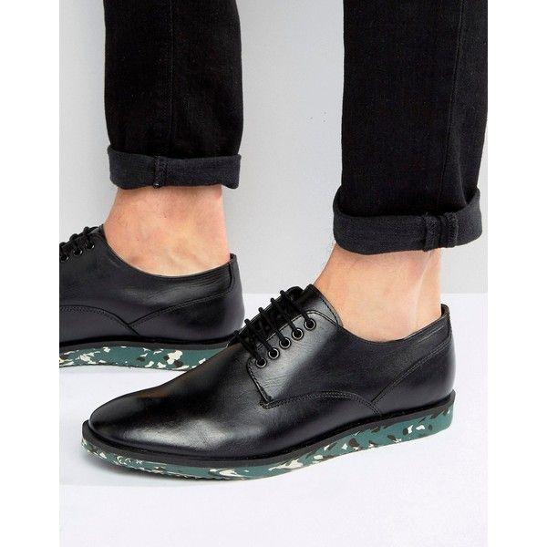 Chaussures Richelieu En Cuir Marron Avec Semelle Naturel - Asos Brun jXVVqejY9