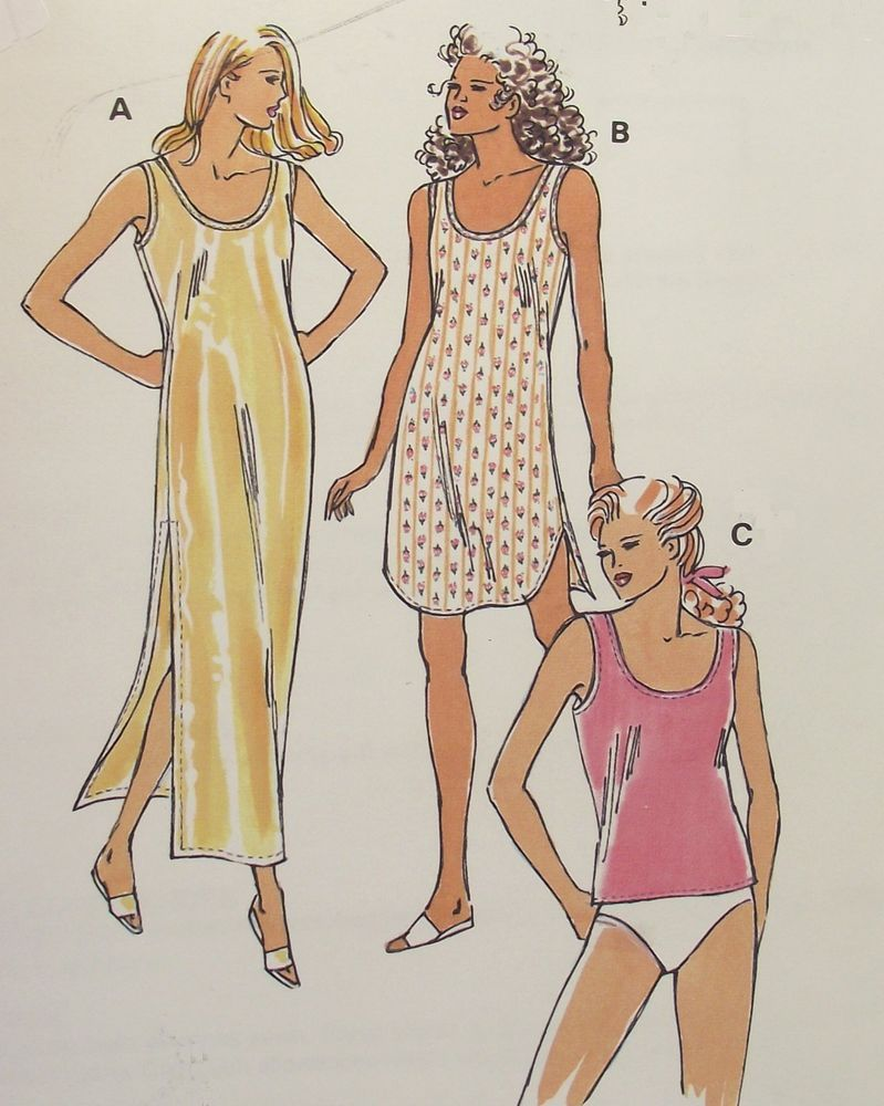 Kwik sew 2239 misses nightgowns camisole sewing pattern new kwik sew 2239 misses nightgowns camisole sewing pattern new sealed xs xl uncut jeuxipadfo Choice Image