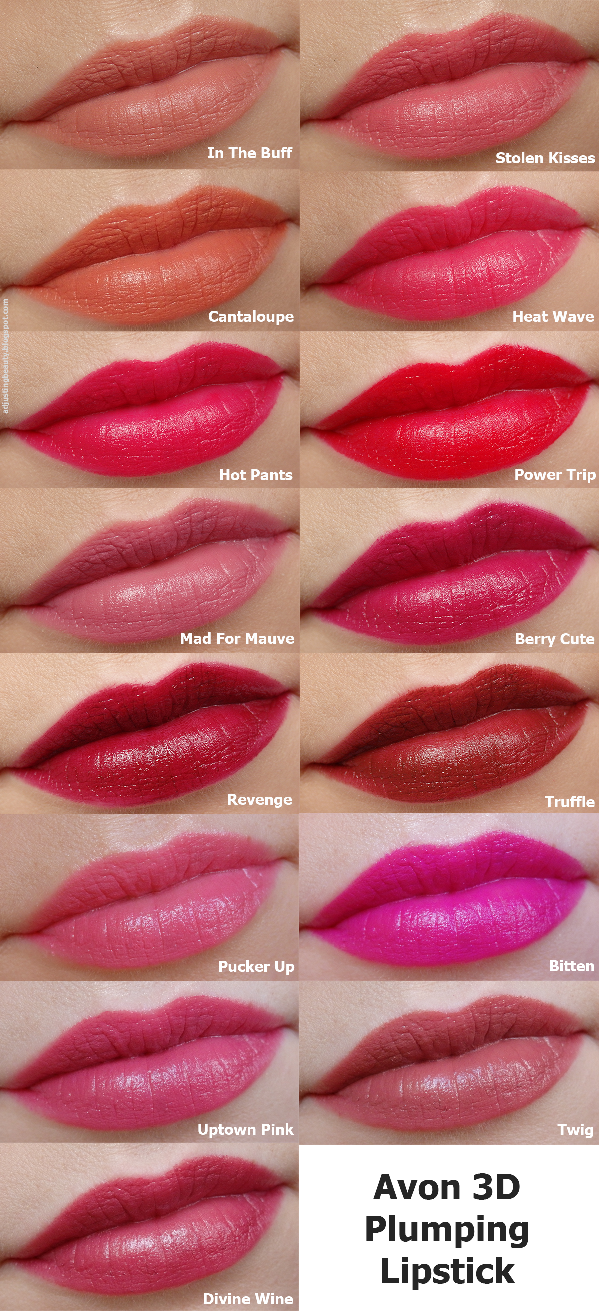 Review Of Avon 3D Plumping Lipsticks (Beyond Color