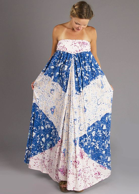 8d27dec803f Queen Bee Zippora Maternity Maxi Dress in Patchwork Floral by Fillyboo