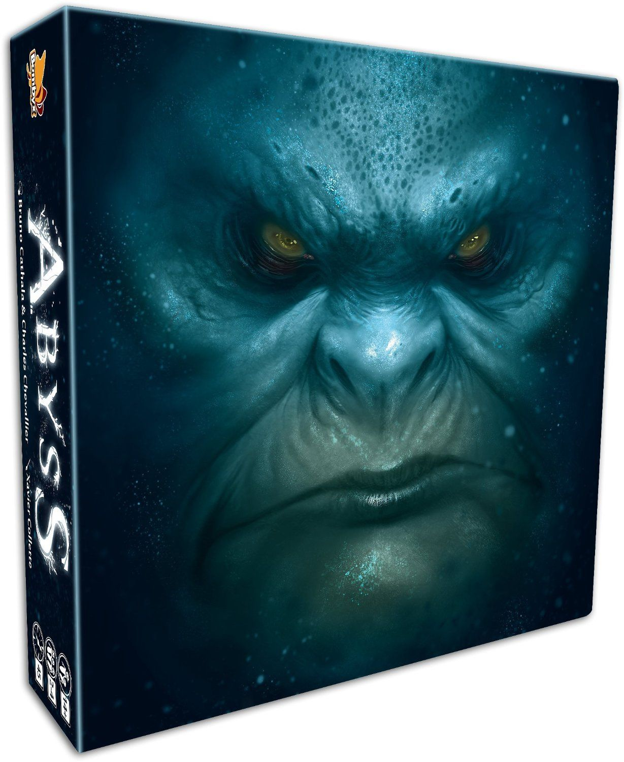 Abyss board game cover art may vary toys
