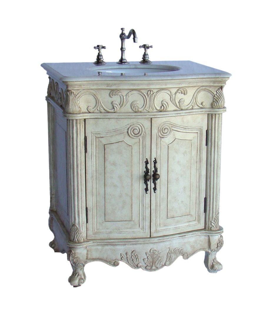 Hayman Bathroom Vanity Cabinet Ba 2917w Lt 27 Antique Bathroom Vanity Discount Bathroom Vanities Vanity Sink