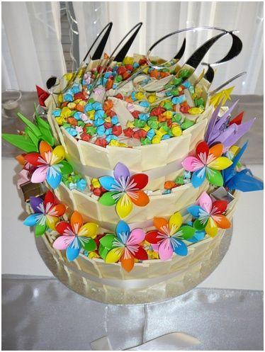 Rainbow Wedding Color Schemes