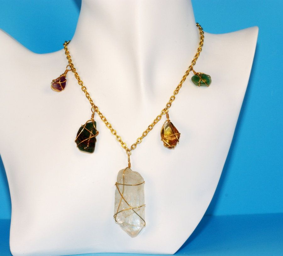 Fine Pinterest Wire Wrapped Stones Motif - Electrical and Wiring ...