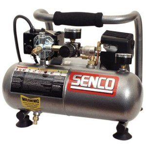 Senco PC1010 1-Horsepower Peak 1-Gallon Compressor - $125.99 - Amazon