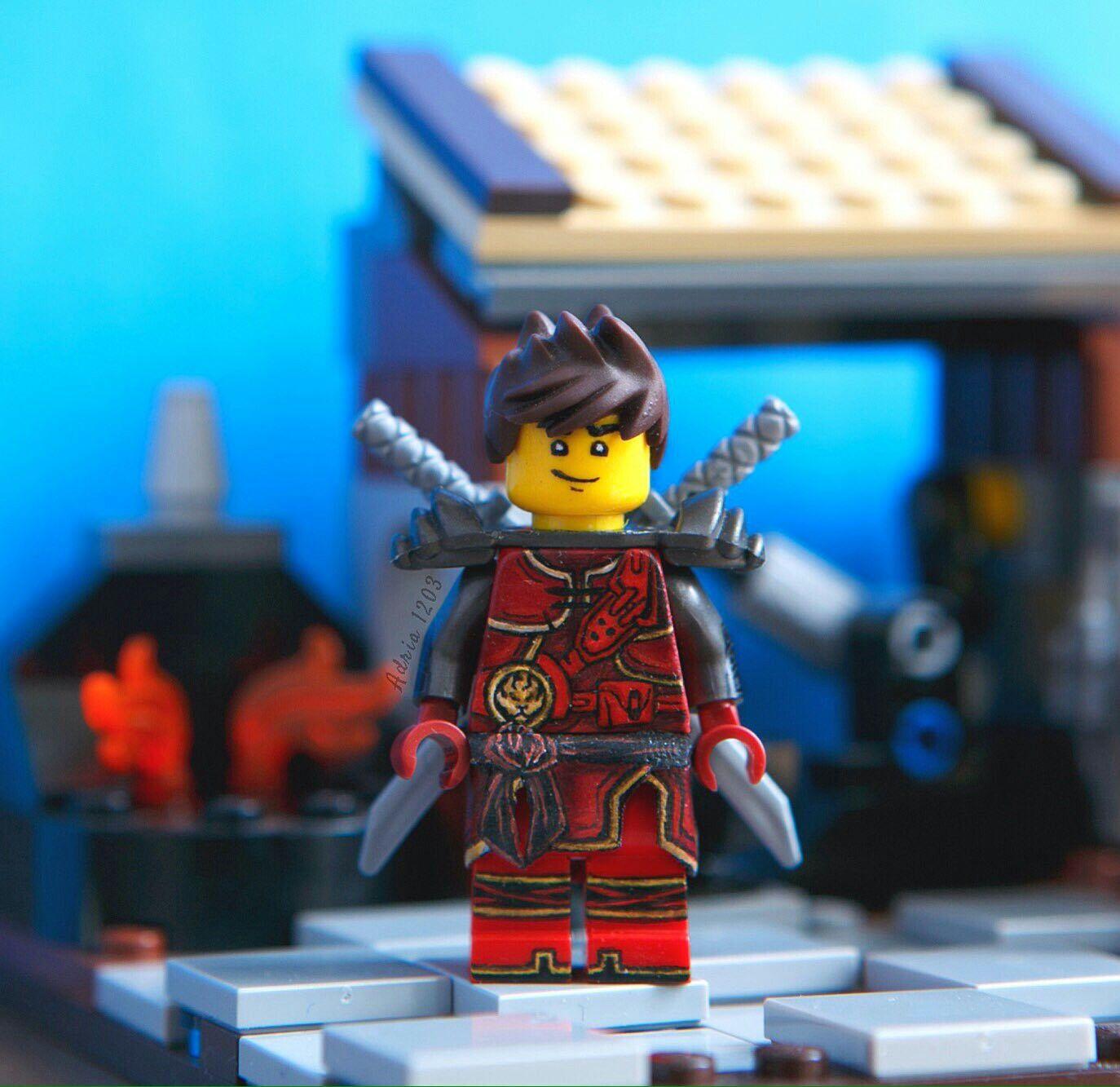 Kai pic by mairin1233 on twitter ninjago ninjago kai lego marvel kai - Lego ninjago saison 7 ...