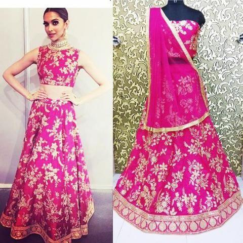 Deepika Padukone Pink Lehenga Choli Online Shopping Indian Dresses 2 Sangeet Outfit Indian Bridal Fashion Indian Bridal Lehenga