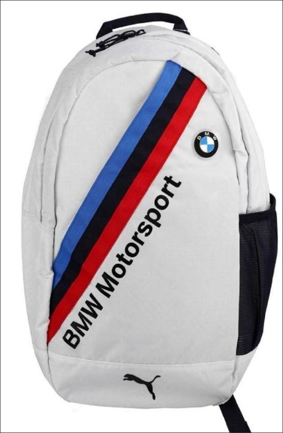 New Puma BMW Motorsport Backpack White | Bmw, Backpacks ...