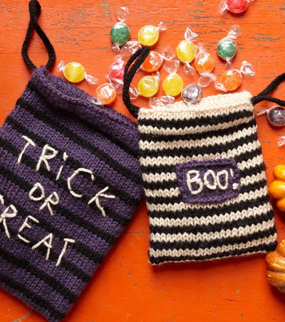 Adorable treat bags! Great for #Halloween favors or could make in other colors for any party!