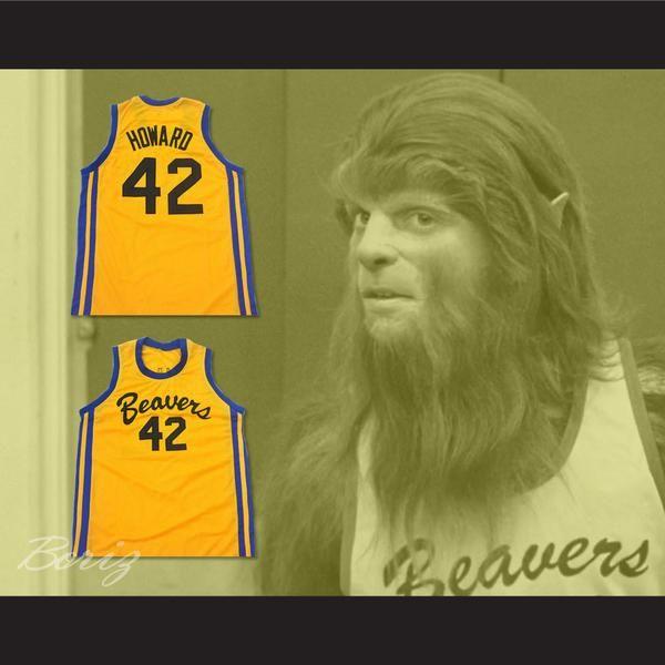 02e9b3272b1 Teen Wolf Scott Howard 42 Beacon Beavers Basketball Jersey - borizcustom - 3
