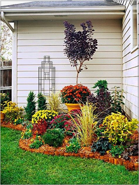 Merveilleux Small Corner Garden Design DIY, Do It Yourself On A Budget Garden Design In  Alongside