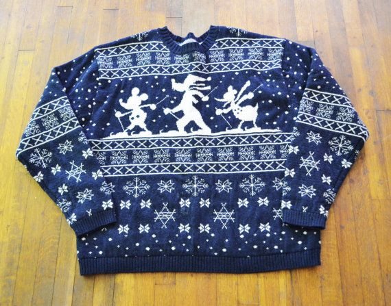 Disney Ugly Christmas Sweater! | Disney | Pinterest | Ugliest ...