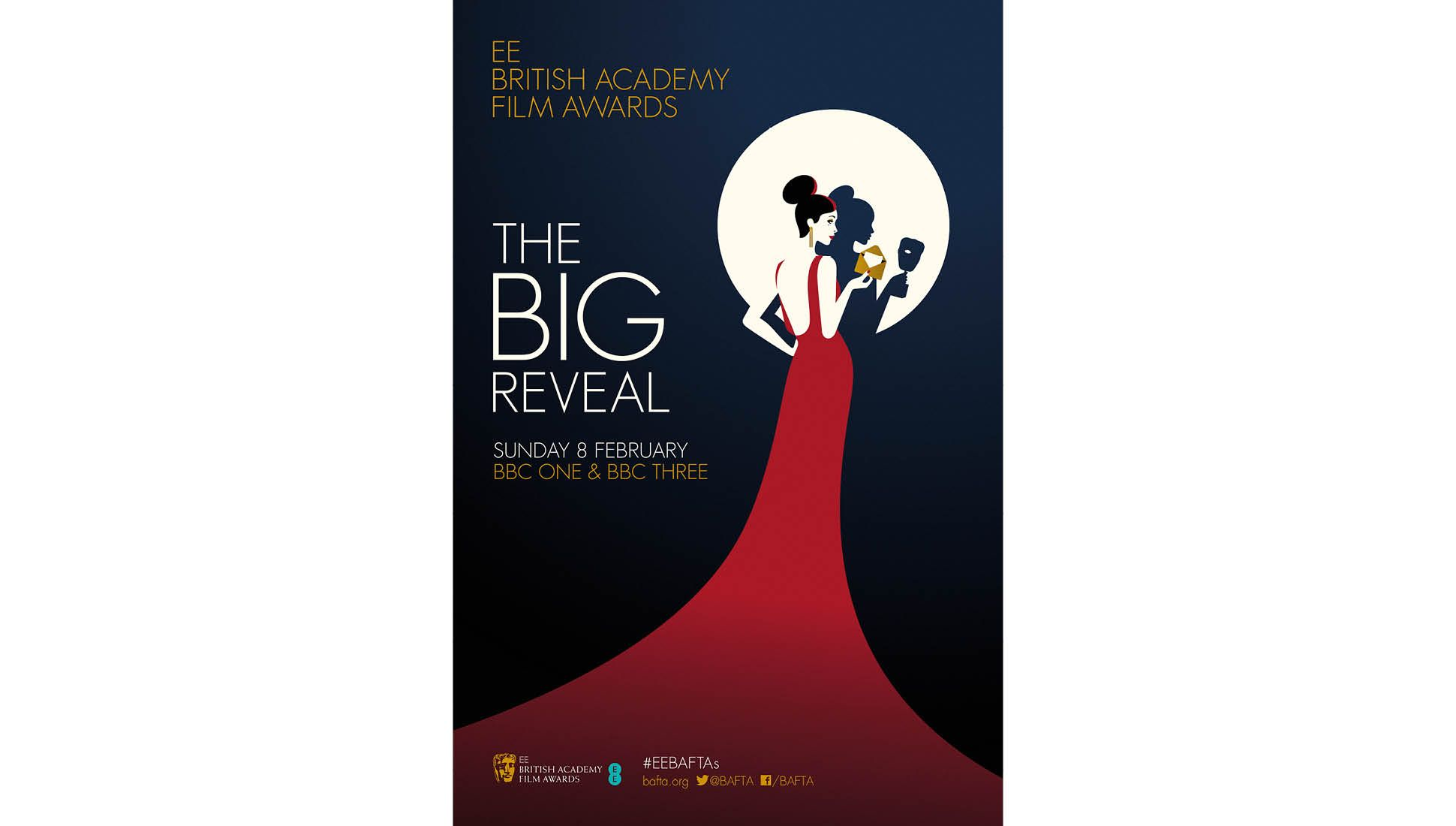 Poster design 2015 - Poster Design For Ee British Academy Film Awards Bafta Awards Campaign 2015