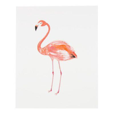 #illustrated flamingo