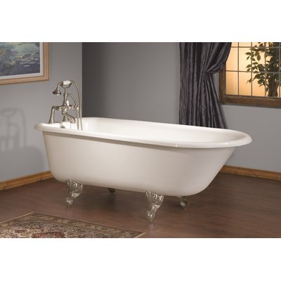 Cheviot Products 68 X 30 Soaking Bathtub With Continuous Rolled