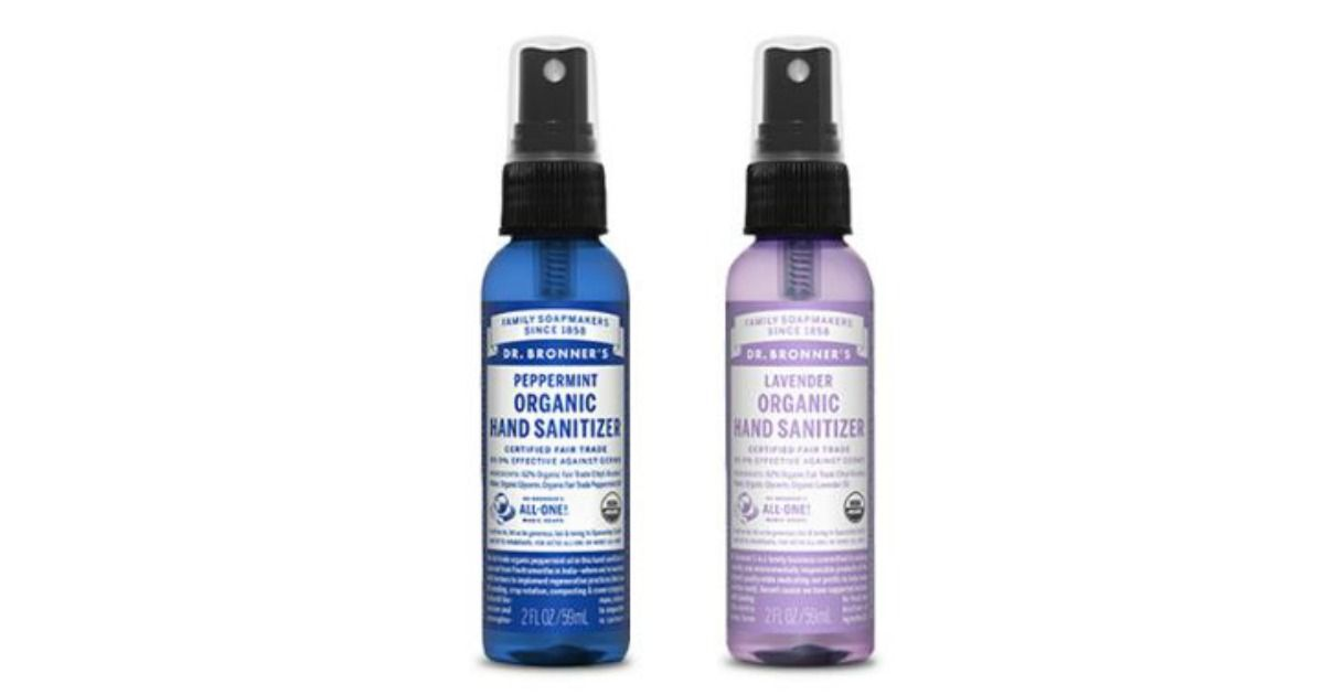 Possible Free Dr Bronner S Organic Hand Sanitizer Lemongrass
