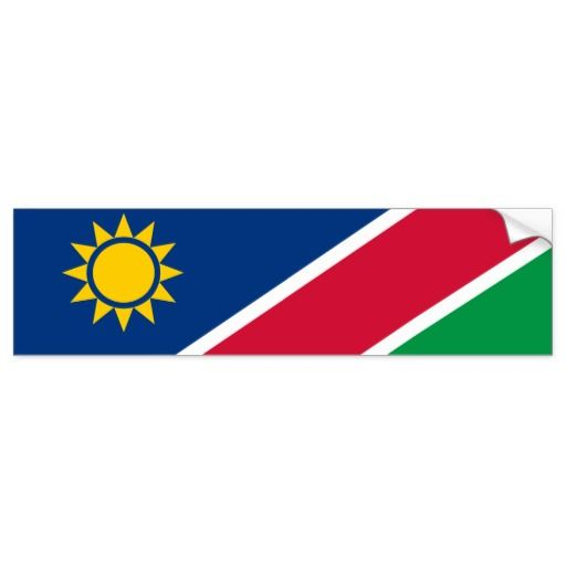 Flag Of Namibia Sticker