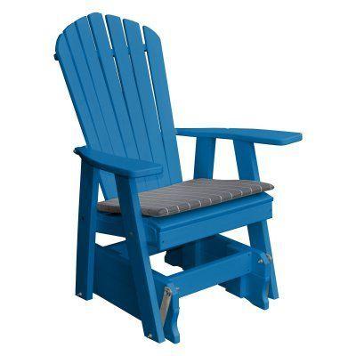 Newport Rocking Chair Buy Baby High Outdoor Radionic Hi Tech Recycled Plastic Patio Adirondack Glider Blue Al Gl 36726 Bl Durable