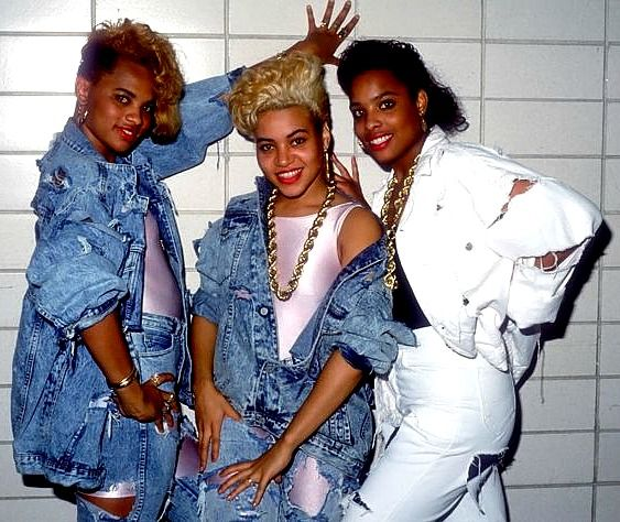Amazing Salt N Pepa Hiphop Icons Get Ready To Style For Begts Old Hairstyle Inspiration Daily Dogsangcom