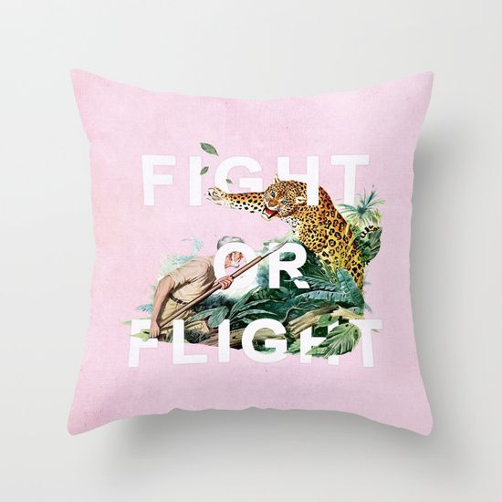 Fight Or Flight Throw Pillow By Heather Landis Fight Or Flight Prints Art Prints